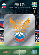 Adrenalyn XL Euro 2020<br />Russia Cards