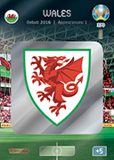Adrenalyn XL Euro 2020<br />Wales Cards