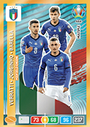 Adrenalyn XL Euro 2020<br />Midfield Engine Cards
