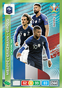 Adrenalyn XL Euro 2020<br />Attacking Trio Cards
