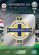 Adrenalyn XL Euro 2020<br />Nothern Ireland Cards