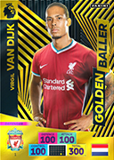 Adrenalyn XL Premier League 2021<br>Golden Baller Cards