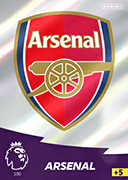 Adrenalyn XL Premier League 2021<br>Arsenal Cards