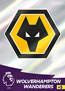 Adrenalyn XL Premier League 2021<br>Wolverhampton Wanderers Cards