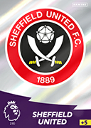 Adrenalyn XL Premier League 2021<br>Sheffield United Cards