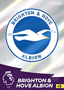Adrenalyn XL Premier League 2021<br>Brighton and Hove Albion Cards