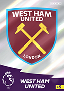 Adrenalyn XL Premier League 2021<br>West Ham United Cards