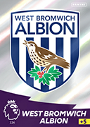 Adrenalyn XL Premier League 2021<br>West Bromwich Albion Cards