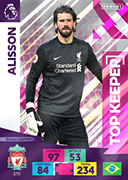 Adrenalyn XL Premier League 2021<br>Top Keeper Cards