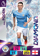 Adrenalyn XL Premier League 2021<br>Diamond Cards