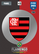 Adrenalyn XL FIFA365 2017 Update<br>Flamengo Cards