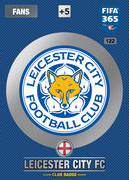 Adrenalyn XL FIFA365 2017 Update<br>Leicester City Cards