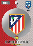 Adrenalyn XL FIFA365 2017 Update<br>Atletico Madrid Cards