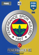 Adrenalyn XL FIFA365 2017 Update<br>Fenerbahce Cards