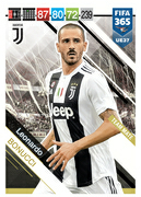 Adrenalyn XL FIFA365 2019 Update<br>Juventus Cards
