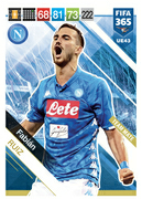 Adrenalyn XL FIFA365 2019 Update<br>Napoli Cards
