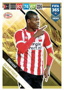 Adrenalyn XL FIFA365 2019 Update<br>PSV Eindhoven Cards