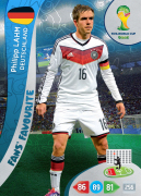 Adrenalyn XL WC 2014 Fans Favourites Cards