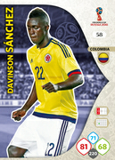 Adrenalyn XL WC 2018 Colombia Cards