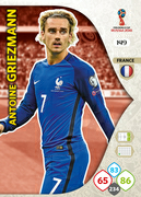 Adrenalyn XL WC 2018 France Cards