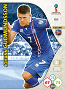 Adrenalyn XL WC 2018 Iceland Cards