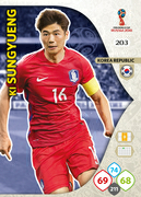 Adrenalyn XL WC 2018 South Korea Cards