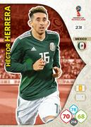 Adrenalyn XL WC 2018 Mexico Cards