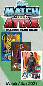 Match Attax 2021 Trading Cards