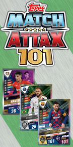 Match Attax 101 Trading Cards 2020
