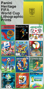 Panini Heritage World Cup Lithographic Prints