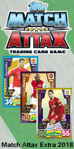 Match Attax Extra 2018 Trading Cards