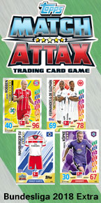 Germany Match Attax Extra 2018 Trading Cards