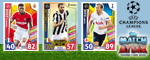 Match Attax Champions League 2018 Trading Cards