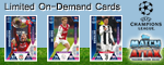 Match Attax Champions League On Demand 2019 Trading Cards