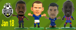 Soccerstarz 2018 January