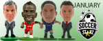 January Soccerstarz Releases