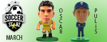 March Soccerstarz Releases