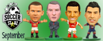 September Soccerstarz Releases