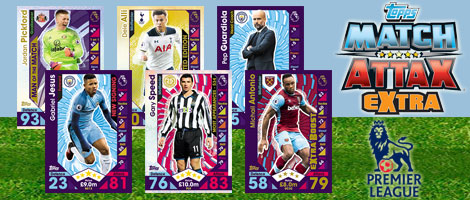 Match Attax Extra Premier League 2017
