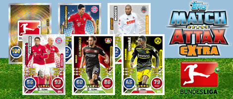 Bundesliga Match Attax Extra 2017