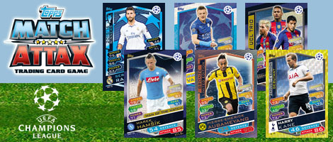 Match Attax Champions League 2016/2017