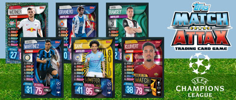 Topps Match Attax Extra Season 2019//20 Trading Cards Game Collector Tins