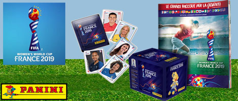 Panini FIFA Womens World Cup 2019 Stickers