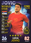 Match Attax 101 2019 World Star Cards