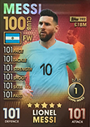 Match Attax 101 2019 100 Club Cards
