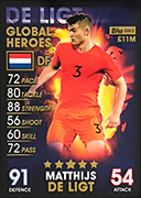 Match Attax 101 2019 Global Heroes Cards