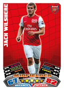 Match Attax 2012 Arsenal Cards