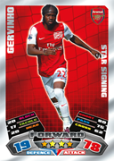 Match Attax 2012 Star Signings Cards
