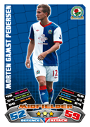 Match Attax 2012 Blackburn Rovers Cards