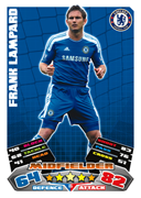 Match Attax 2012 Chelsea Cards